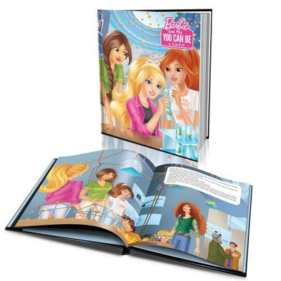 'Barbie You Can Be a Scientist' Personalized Story Book