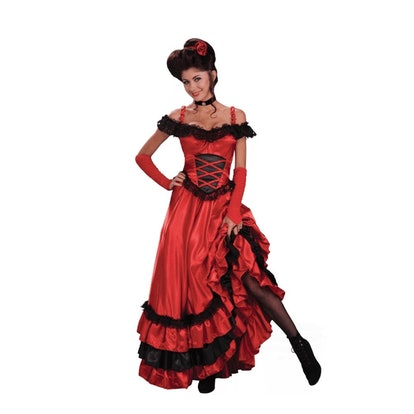 Adult Saloon Sweetie Costume