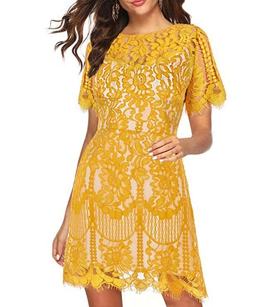 MSLG Lace Dress