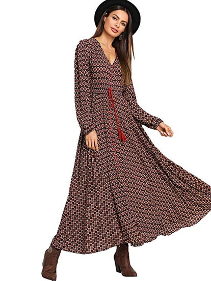 Milumia Button Maxi Dress