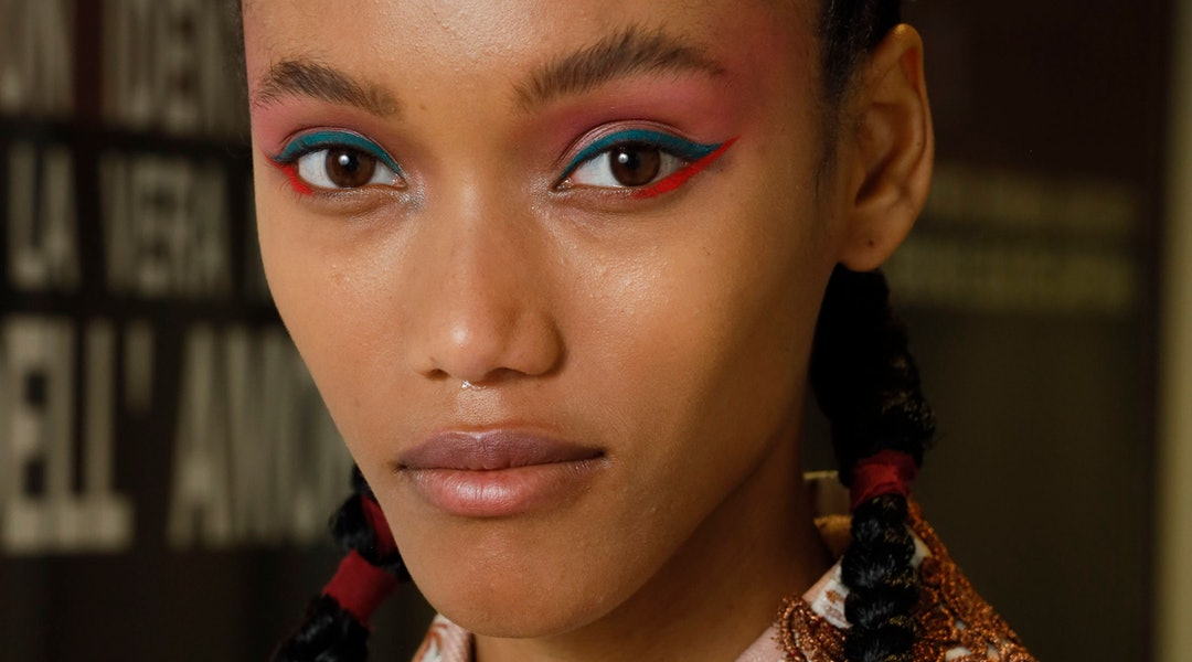Makeup Trends Spring 2020.The Best Milan Fashion Week Spring Summer 2020 Makeup Trends