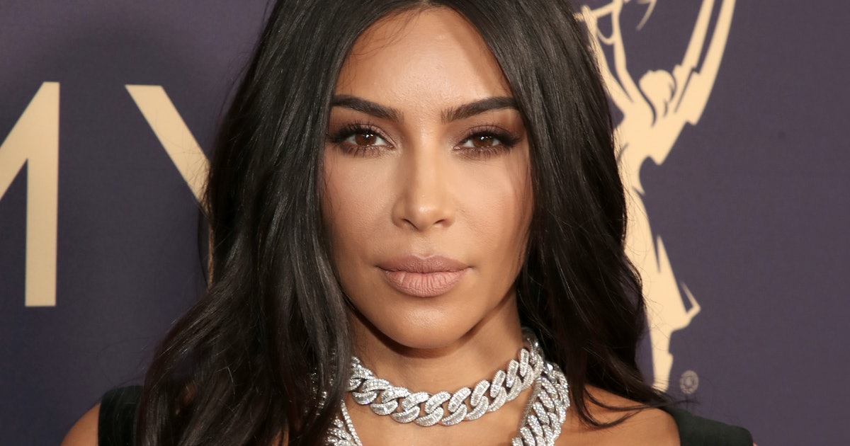 Kim Kardashian West's 2019 Emmy Awards Dress Is So Different From Her Usual Look