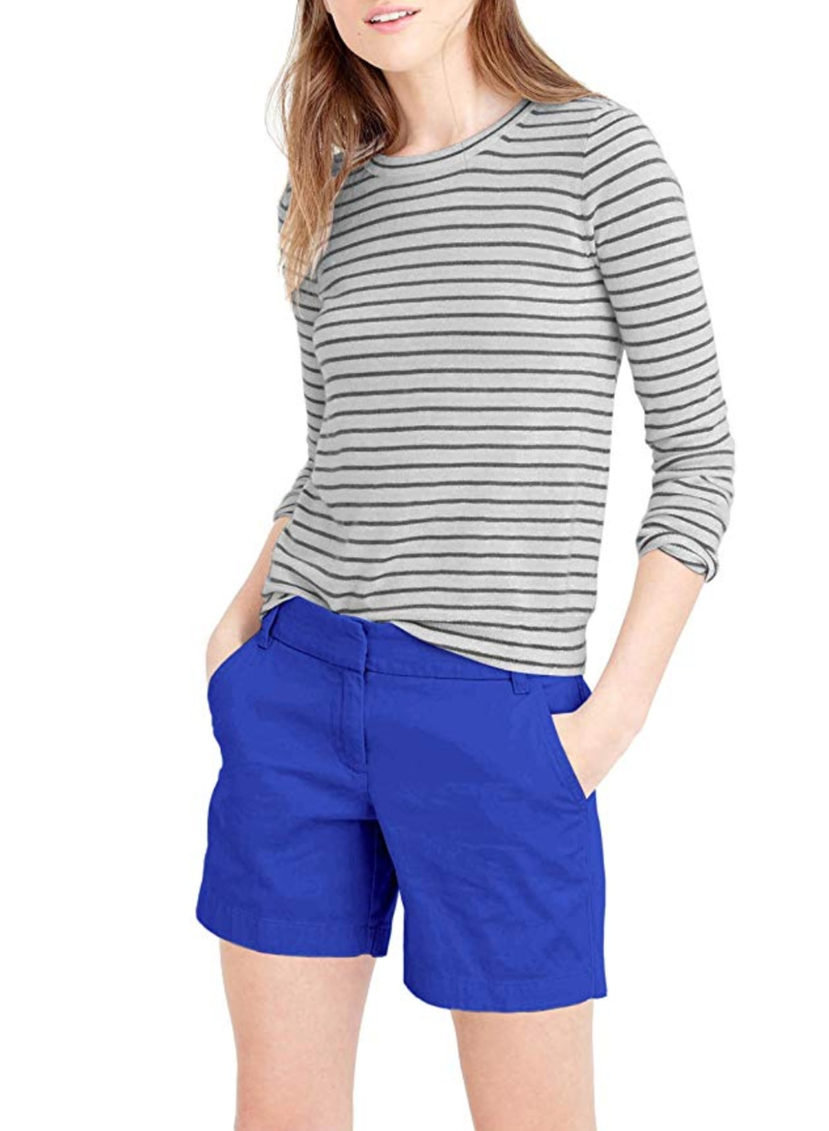HyBrid & Company Women's Super Comfy Bermuda Walking Shorts