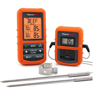 ThermoPro TP20 Wireless Remote Digital Meat Thermometer With Dual Probe