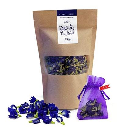 Butterfly Pea Organic Dried Blue Flower Tea