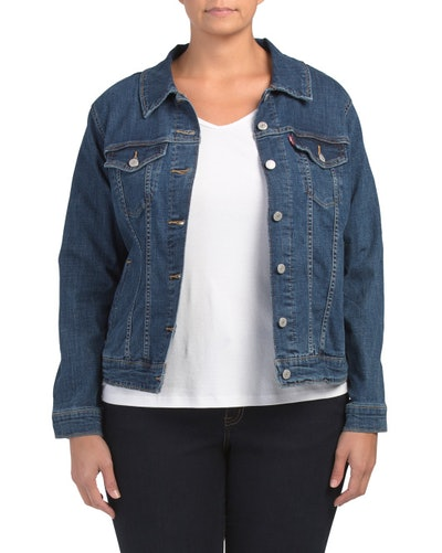 Levi's Plus Original Trucker Jacket (Sizes 1X-3X)
