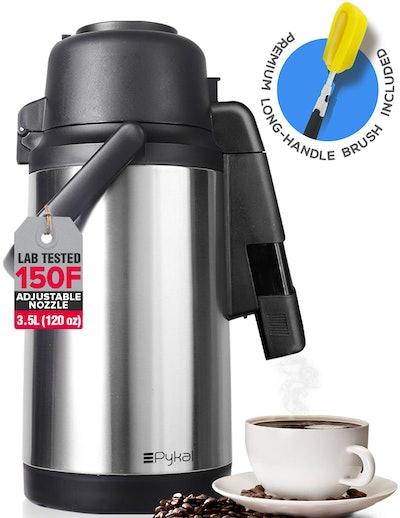 Pykal SplashProof Coffee Carafe Airpot Dispenser