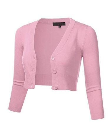 FLORIA Bolero Cardigan Sweater