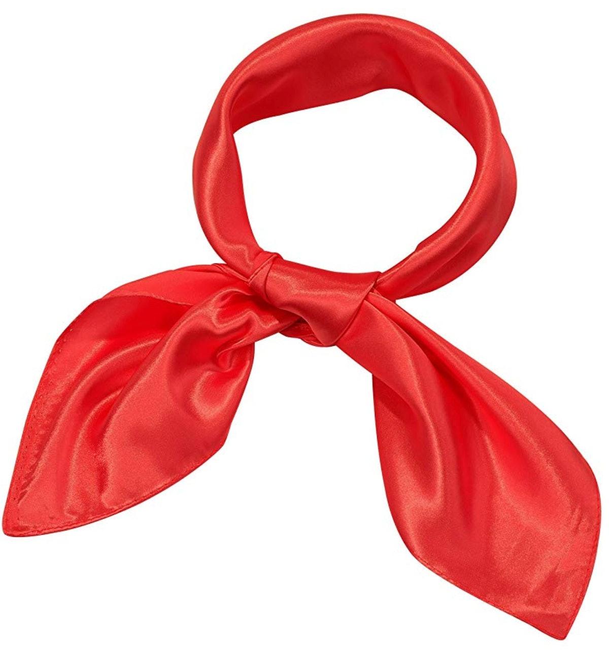 Satinior Chiffon Scarf Square Handkerchief