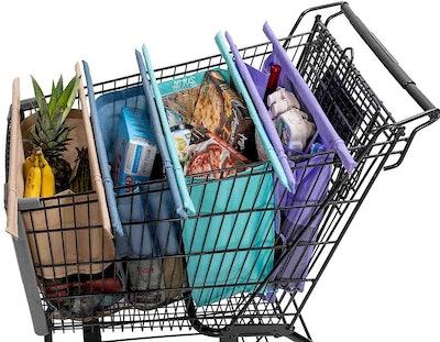 LOTUS TROLLEY Reusable Grocery Bags (4-Pack)