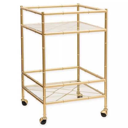 One Kings Lane™ Open House Huntley Bar Cart in Aged Gold