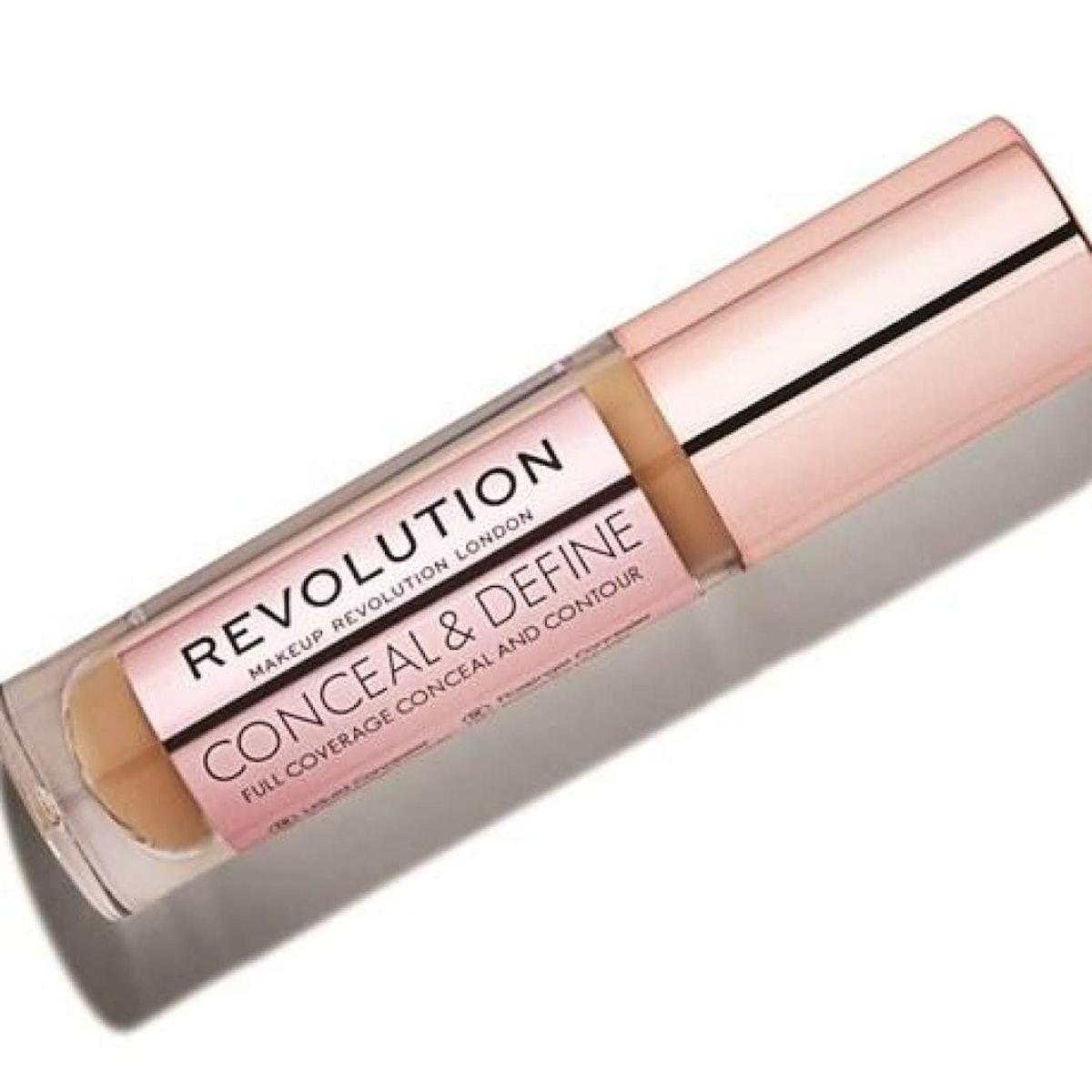 Makeup Revolution Conceal & Define Concealer Full Coverage Concealer