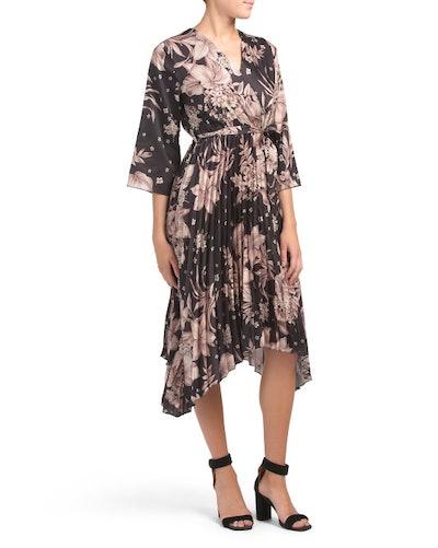 Coolples Floral Print Dress (Sizes S-XL)