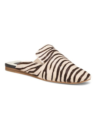 DOLCE VITA Animal Print Haircalf Mules