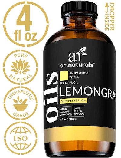ArtNaturals 100% Pure Lemongrass Essential Oil (4 Fl Oz/ 118 mL)
