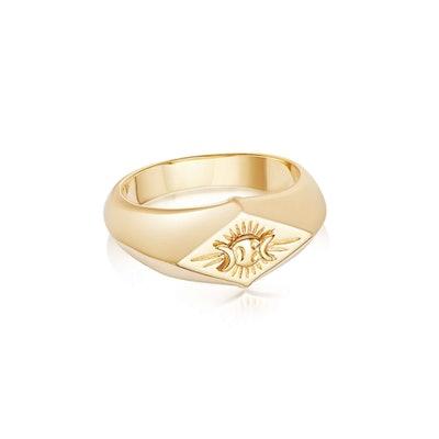 Estee Lalonde Goddess Signet Ring