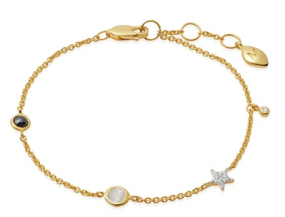 Gold Interstellar Bracelet
