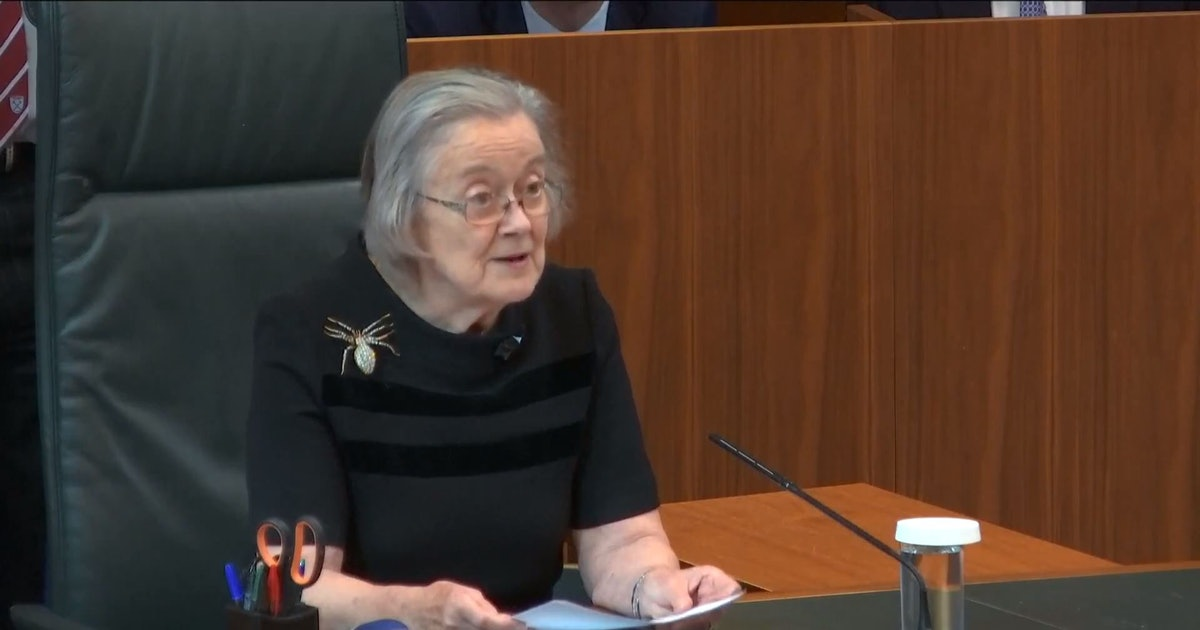 Lady Brenda Hale Is The Supreme Court President & Brooch Icon We All Need Right Now