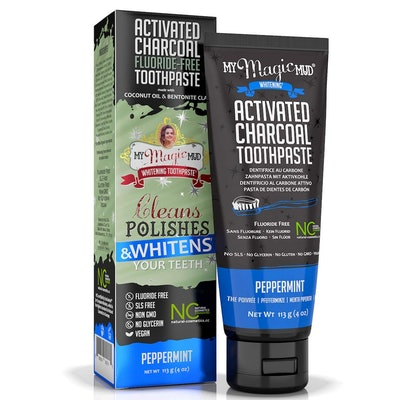 My Magic Mud Activated Charcoal Toothpaste