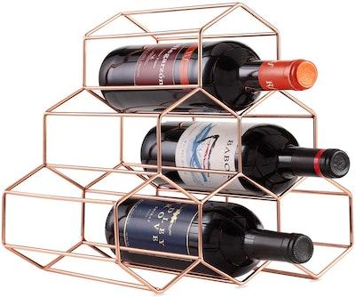 Buruis Metal Tabletop Wine Rack