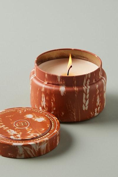 Pumpkin Clove Candle Tin