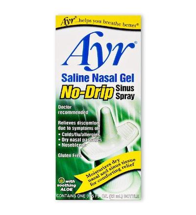 Ayr Saline Nasal Gel No-Drip Sinus Spray