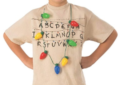 Rubie'S 200010_NS Stranger Things Season 1 Light Up Christmas Bulb Necklace