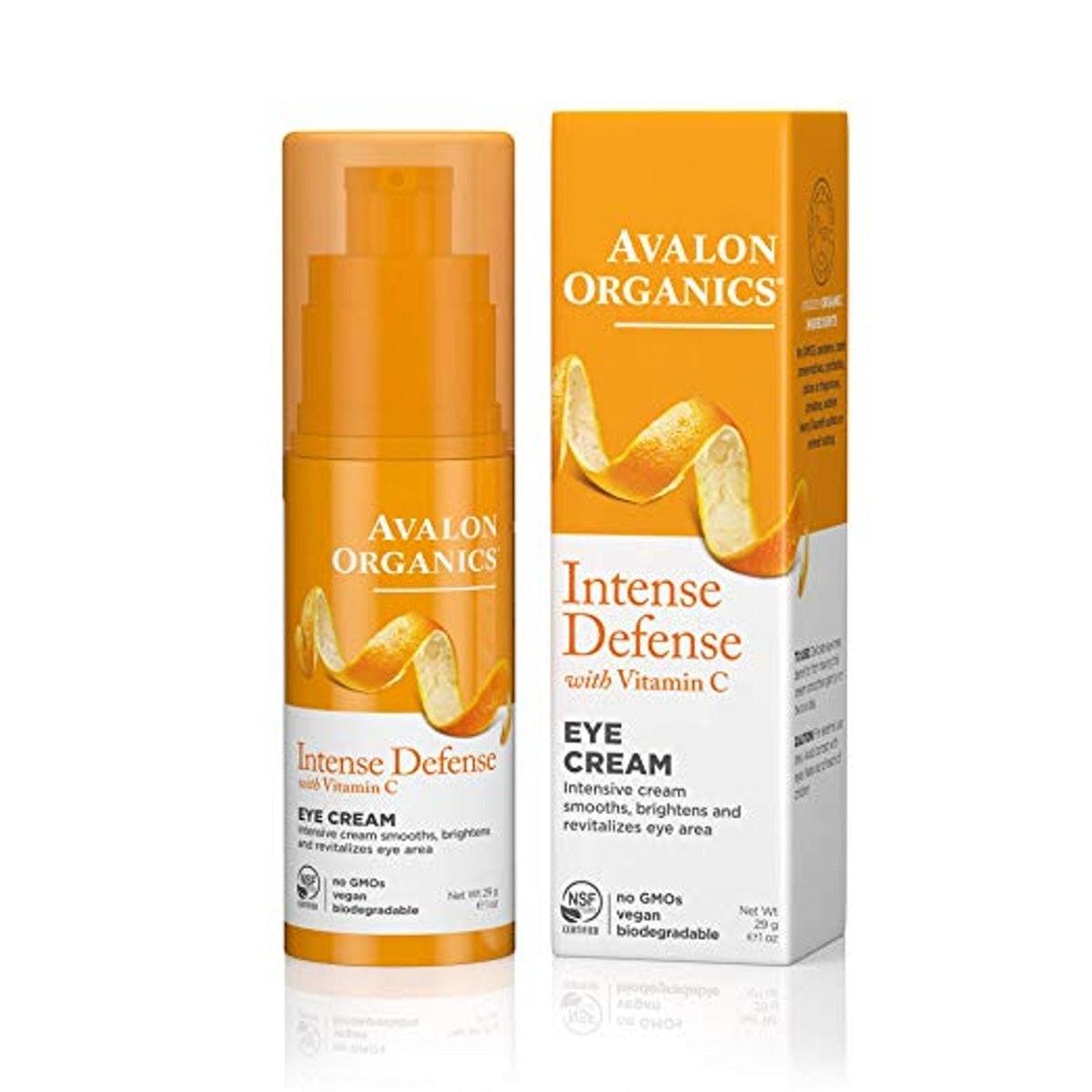 Avalon Organics Intense Defense Eye Cream