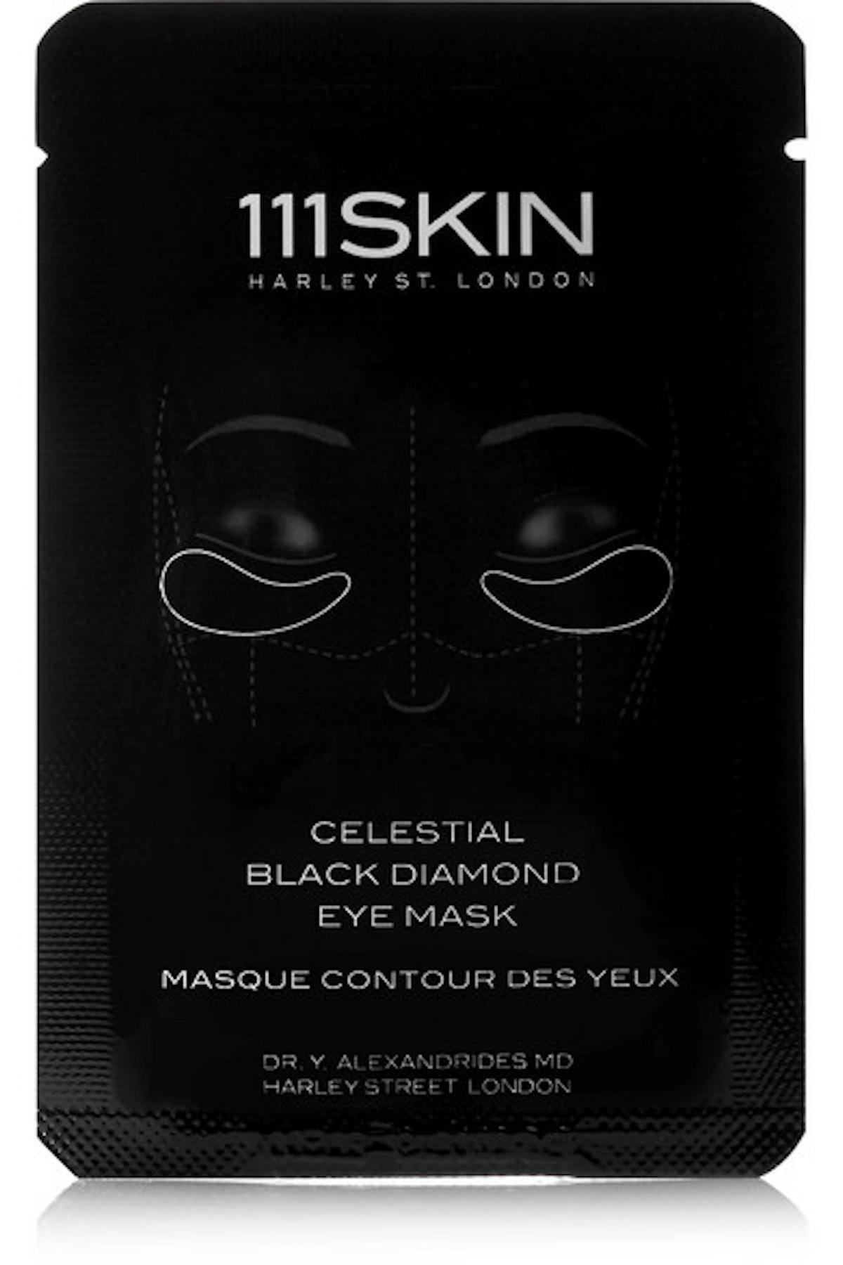 Celestial Black Diamond Eye Mask
