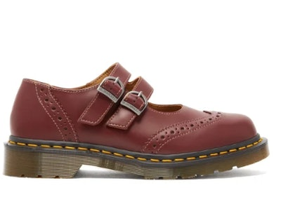 Dolly Buckled Leather Brogues