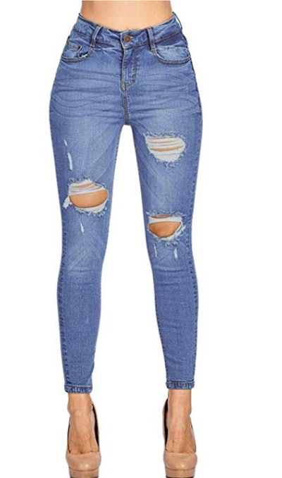 ICONICC Ripped Skinny Jeans
