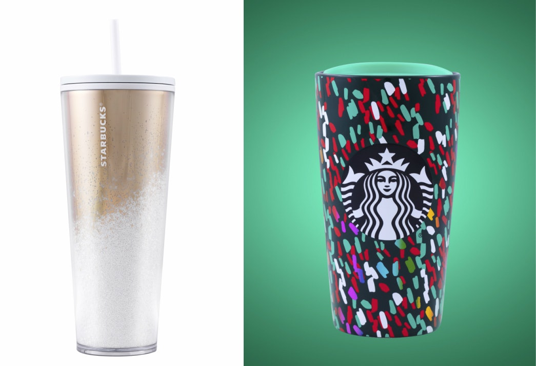 Starbucks Christmas Cups 2019.Starbucks Holiday 2019 Tumblers Cold Cups Shine Bright