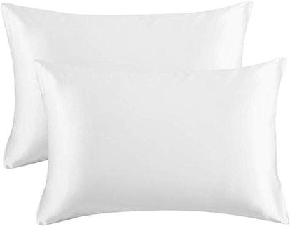 Bedsure Satin Pillowcase for Hair & Skin (2-Pack)