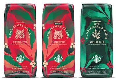 Starbucks Christmas Blend Coffee