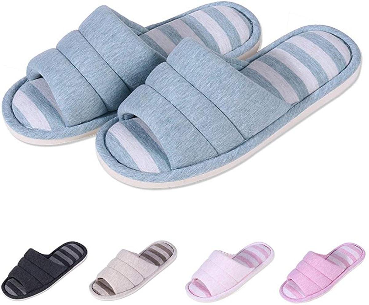 shevalues Women's Soft Indoor Slippers
