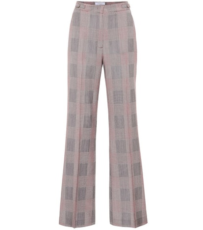 Vesta High-Rise Wide-Leg Wool Pants