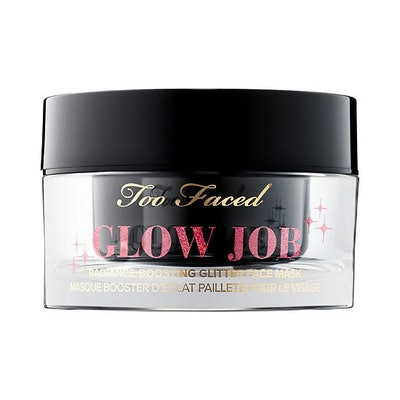 Glow Job Radiance-Boosting Glitter Face Mask