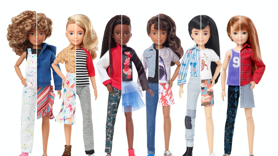 Mattel's Gender-Neutral Dolls Are Made For Everyone
