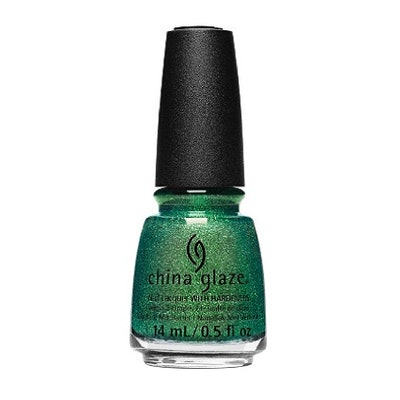 China Glaze Nail Lacquer in Green With Jealousy