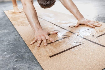 Body By Yoga Luxury Cork Yoga Mat
