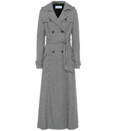 Cassatt Wool-Blend Trench Coat