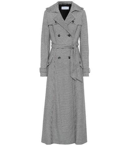 Cassatt Wool-Blend Trench Coat