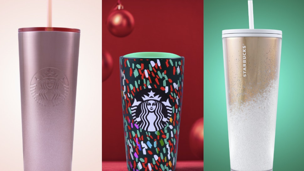 Starbucks Christmas Cups 2019.Starbucks Holiday Cup Lineup For 2019 Is Festive As Heck