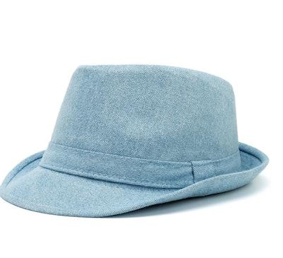 Women Men Unisex Denim Bucket Cap