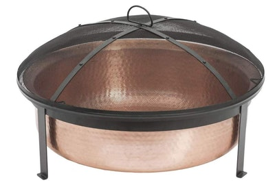 Hand Hammered Copper Fire Pit by CobraCo
