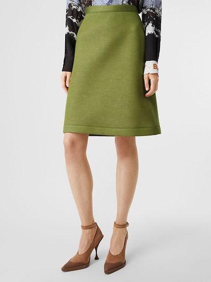 Double-Faced Neoprene Skirt