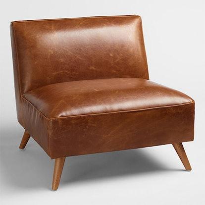Cognac Mid Century Huxley Chair