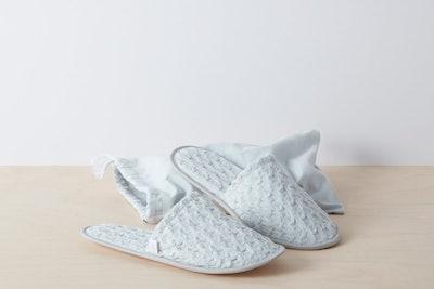 Stonewashed Waffle Slippers