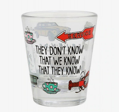 They Don't Know Mini Glass - BoxLunch Exclusive