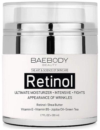 Baebody Retinol Moisturizer Cream for Face and Eye Area